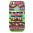 Fashion Detachable Silicone Case for Iphone 5 - Multicolored