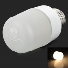 BYD GL-14BA  E27 3.2W 200lm 3500K 33-3528 LED Warm White Light Bulb - White + Silver