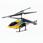 Frestech Yi F62018 2-CH IR Remote Control PVC R/C Helicopter - Yellow