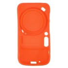 REMAX Protective TPU Back Case w/ Camera Cover + Strap for Samsung Galaxy S4 Zoom - Orange
