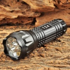 11-LED 60lm Green / Blue / White / Red Laser Multi-Functional Flashlight - Black (3 x AAA)