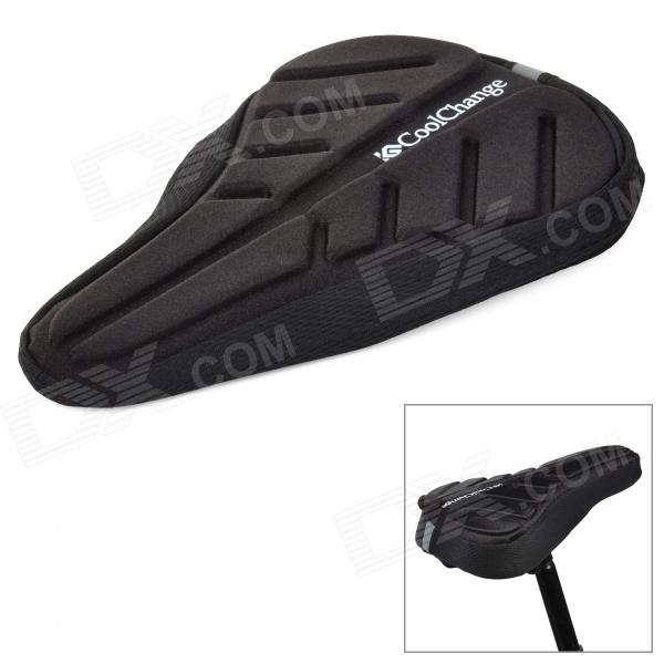 Coolchange Bicycle Bike Seat Cushion - Black coolchange 22047 21044 bicycle bike tyre repair kit set black