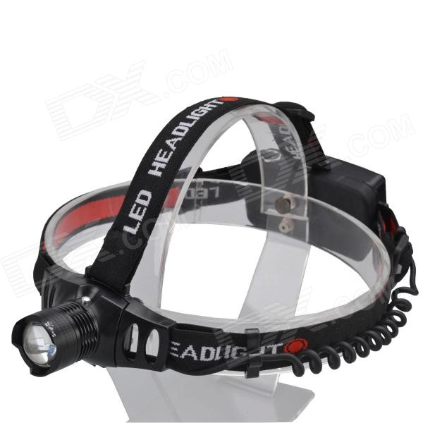 SingFire SF-553 250lm 3-Mode Zooming Flashlight Headlamp w/ CREE XR-E Q5 - Black (1 x 18650/3 x AAA) singfire sf 117d 180lm 3 mode zooming flashlight w cree xre q5 silver 1 x aa 14500