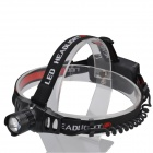 SingFire SF-553 CREE XR-E Q5 250lm 3-Mode Zooming Flashlight Headlamp - Black (1 x 18650 / 3 x AAA)