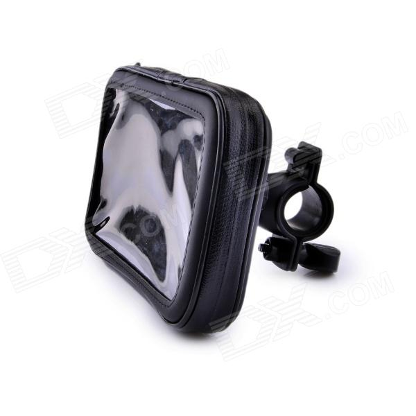 Bicycle Waterproof Bag for Samsung Galaxy Mega 6.3 / i9200 - Black + Transparent бра favourite gesso 1308 1w
