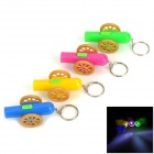 Cannon Style LED White Flashlight Keychains (3 x LR41 / 4 PCS)