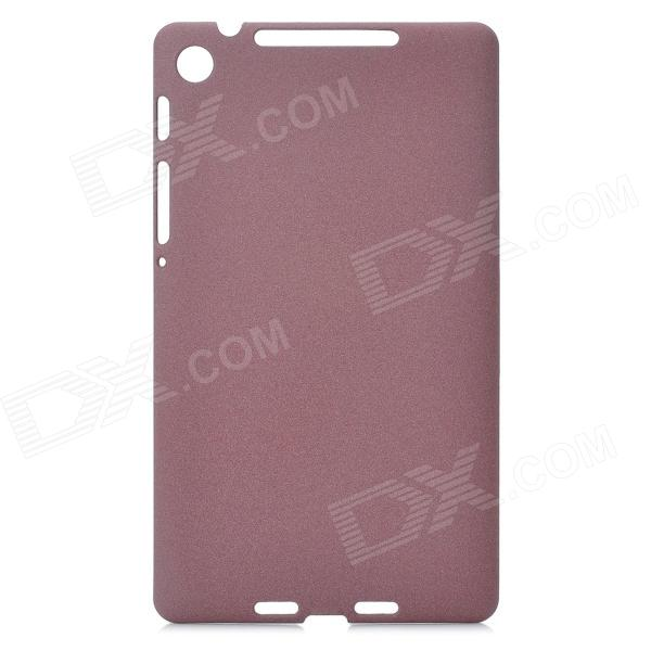 MS-123 Quicksand Protective PC + ABS Case for Google Nexus 7 - Brown