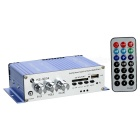 Digital MP3 Player Car Amplifier w/ USB / SD / Remote Controller