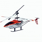 ST VV015-2 3.5-CH IR Remote Control Aluminum Alloy R/C Helicopter - Orange + White