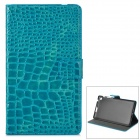 Y7-2-10L Stylish Protective PU Case w/ Stand + Auto Sleep for Google Nexus 7 Second - Deep Green