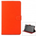 Y7-2-26JH Stylish Protective PU Case w/ Stand + Auto Sleep for Google Nexus 7 Second - Orange