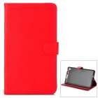 Y7-2-16R Stilvolle Protective PU Case w / Stand + Auto-Sleep für Google Nexus 7 Second - Red