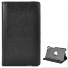 360 Degree Rotation Protective  PU Leather Holder Case for Google Nexus 7 Tab 2 - Black