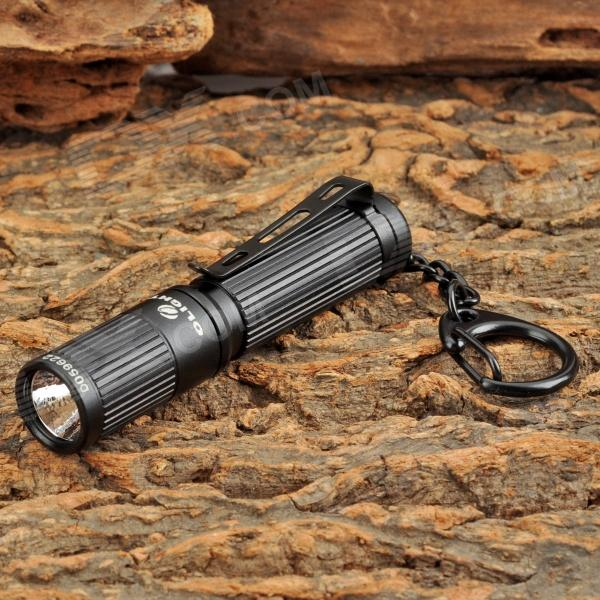 OLIGHT I3S 80lm 4-Mode White Flashlight w/ Cree XP-G2 R5 - Black (1 x AAA) - DXAAA Flashlights<br>Brand OLIGHT Model I3S Quantity 1 Color Black Material Aluminum alloy Emitter Brand Cree LED Type XP-G2 Emitter BIN R5 Color BIN Cool White Number of Emitters 1 Working Voltage 1.2~1.5 V Battery Configuration 1 x AAA (included) Circuitry 240mA Brightness 80 lm Runtime 30 minutes Number of Modes 4 Mode Arrangement Lo &gt; Mid &gt; Hi &gt; Fast strobe Mode Memory No Switch Type Twisty Switch Location Head twisty Lens Glass Reflector Aluminum Textured / OP Beam Range 38 meter Strap Included No Clip Included Yes Other Feature Hard anodized: HA-III; Waterproof: IPX8 (underwater 2m); 96% high transmittance lens; Aluminum textured / OP reflective lens output soft and uniform light Packing List 1 x Flashlight 2 x Rings 1 x AAA battery 1 x Chinese / English user manual<br>