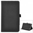 Y7-2-19B Stilvolle Protective PU Case w / Stand + Auto-Sleep für Google Nexus 7 Second - Schwarz