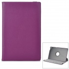 Lychee Pattern Protective Rotary  PU Case w/ Stand for Sony Xperia Tablet Z - Purple