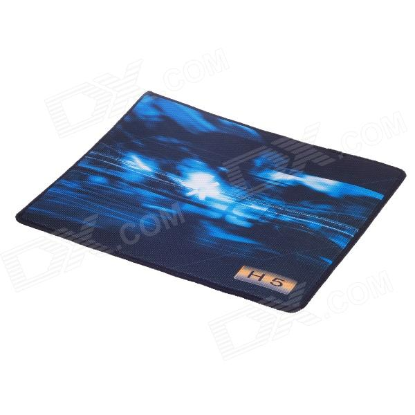 Rolevel H5 UL TRA-SLIP Cloth Competive Games Mouse Pad - Black + Blue