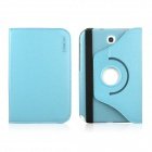 ENKAY ENK-7024 Protective PU Leather Case Stand for Samsung Galaxy Note 8.0 N5100 / N5110 - Sky Blue