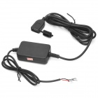 Motorcycle / Electromobile Universal Waterproof Power Supply (DC 12~24V to 5V 2.2A)