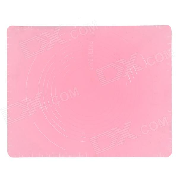 Silicone Kitchen Food Heat Shielding / Knead Dough Pad - Pink