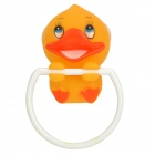 Handy Cute Duck Style Towel Ring Hook w/ Suction Cup - Yellow