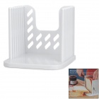 Handy Plastic Bread Slicer Tool - White