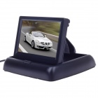 "XY-2046 4.3"" TFT Foldable Monitor Display for Car - Black"