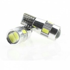 T10 3W 144lm 6 x SMD 5630 LED Error Free Canbus White Light Car Lamp - (DC 12V / 2 PCS)