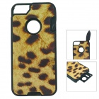 Multifunctional Self-Defence Protective Back Case for Iphone 5 - Leopard