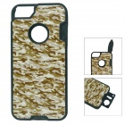Multifunctional Self-Defence Protective Back Case for Iphone 5 - Camouflage
