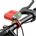 1200lm 4-Mode White Bicycle Light w/ 2 x Cree XM-L U2 - Red + Silver (4 x 18650)