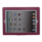G-COVER Protective Senior PU Leather Case Cover w/ Stand for Ipad 2 / 3 / 4 - Red