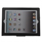 G-COVER Protective Senior PU leather Case Cover w/ Stand for Ipad 2 / 3 / 4 - Black