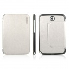 ENKAY ENK-7031 Protective PU Leather Case for Samsung Galaxy Note 8.0 N5100 / N5110 - White