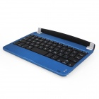 ENK-KBMI01 Aluminum Wireless Bluetooth V3.0 59-Key Keyboard for Ipad MINI - Deep Blue + Black
