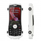 "Moslo A900 Perfume GSM Bar Phone w/ 2.3"" Screen, Quad-band, FM, TV and Bluetooth - White"