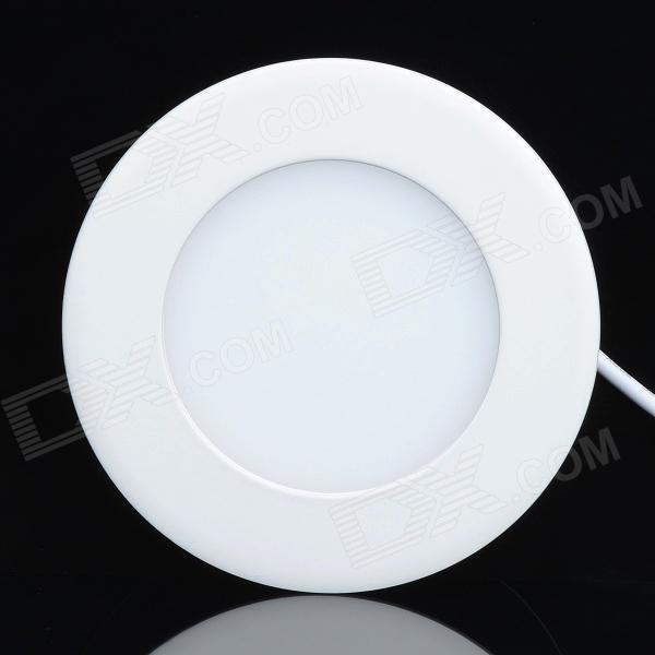 6W 330lm 6000K LED White Light Round Ceiling Lamp w/ LED Driver - White (AC 110~240)Ceiling Light<br>Quantity1MaterialAluminumForm  ColorWhitePower6WRated VoltageAC 110Emitter TypeLEDColor BINWhiteWavelengthNHole diameter10.2Height2.3CertificationCEPacking List1 x Ceiling lamp1 x LED driver<br>