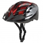 Outdoor Cycling Motorcycle EPS Helmet - Red + Black (Free Size)