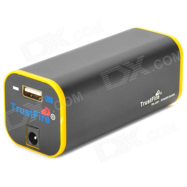 TrustFire 4000mAh 4 x 18650 Battery Power Bank w/ USB Output + US Plug Power Adapter