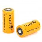 "Recargable de TrustFire 3.7V ""1200mAh"" Li-ion 18350 batería - Orange (2 PCS)"