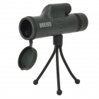 10 x 30 Waterproof Aluminum Alloy + Rubber Monocular Telescope - Dark Green