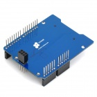 CATALEX SD / TF Card Shield Expansion Board - Blue + Black (Works with Official Arduino Boards)