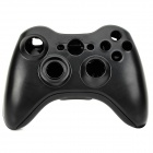 Plastic Replacement Full Housing Case + Buttons for XBOX360 Wireless Game Pad Controller - Black