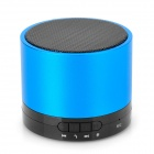 788F Universal Rechargeable Bluetooth V3.0 Speaker w/ Microphone / TF - Blue + Black