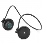 030 Sport Bluetooth V2.1 Stereo MP3 Headphone w/ Microphone for Cellphones - Black