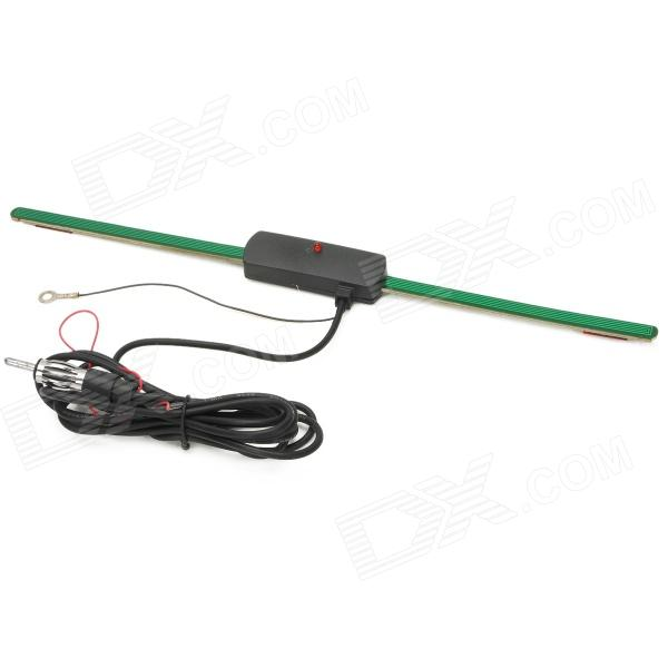 Universal Car FM / AM / LW / SW Radio Antenna - Green + Black