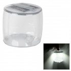 Inflatable Solar Powered Waterproof Lantern Light - Transparent