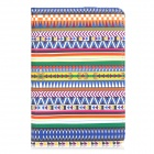 Tribal Ethnic Style Protective PU Leather Case w/ Sleep Mode for Ipad MINI - Multicolor