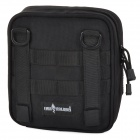 Free Soldier EDC170 Outdoor Multifunctional 1000D Nylon Shoulder Bag - Black