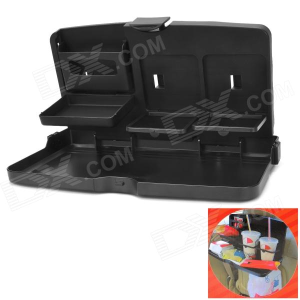 shunwei SD-1503 Car Seat Back Dining Table Desk Drinks Food Tray - Black